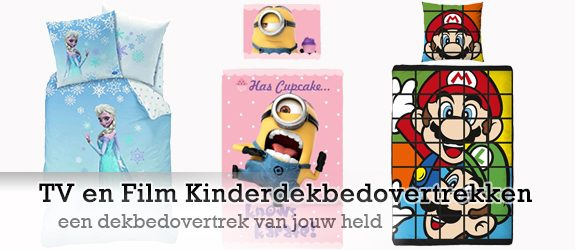 Film en TV kinderdekbedovertrekken