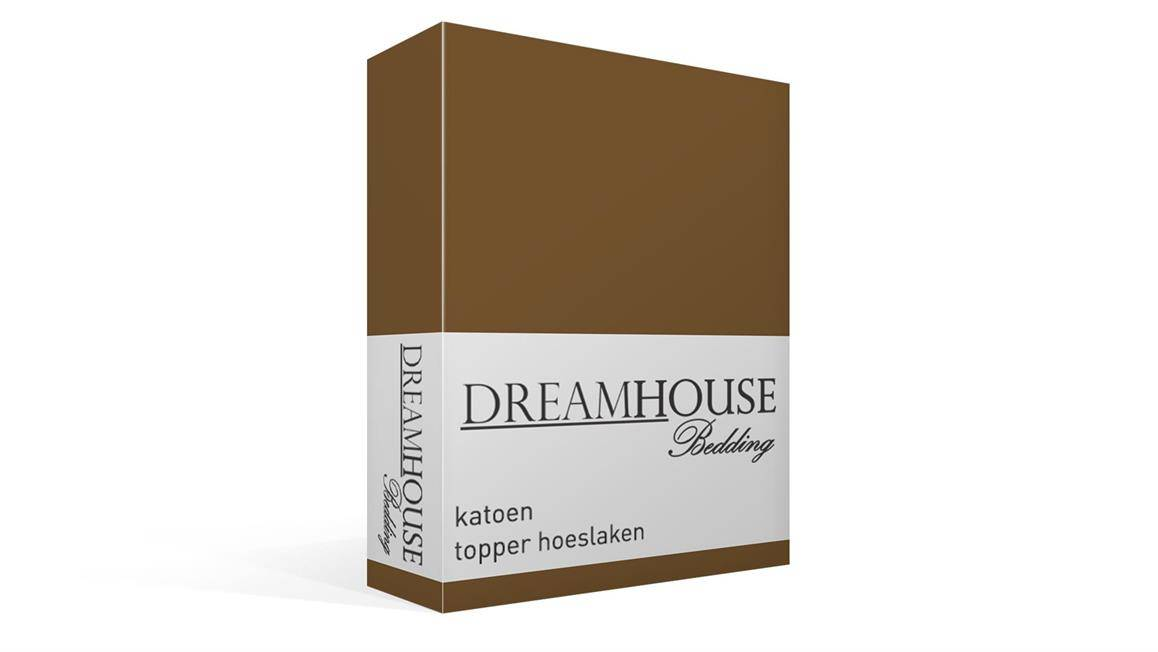 Dreamhouse Bedding katoen topper hoeslaken