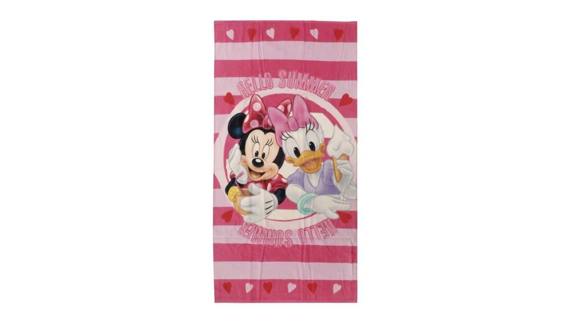 Disney Minnie en Katrien strandlaken