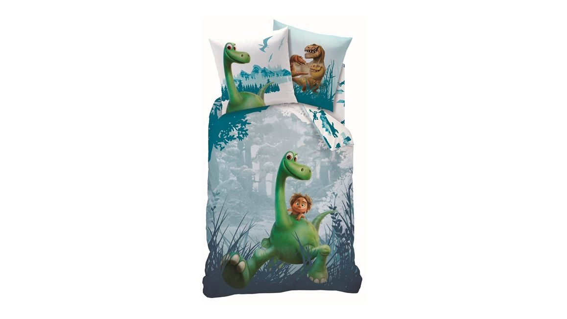the good dinosaur flanel dekbedovertrek heerlijk zacht en warm. Black Bedroom Furniture Sets. Home Design Ideas