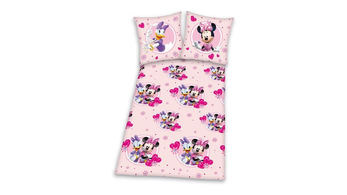 Minnie Mouse flanel dekbedovertrek