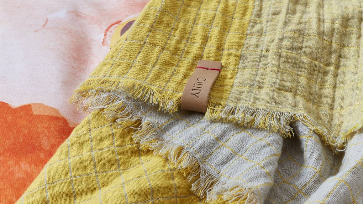 Oilily Pale Lemon plaid