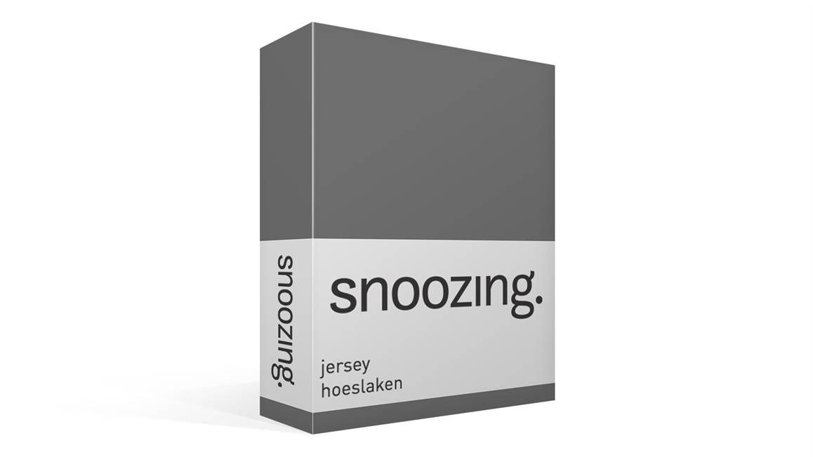 Snoozing jersey hoeslaken