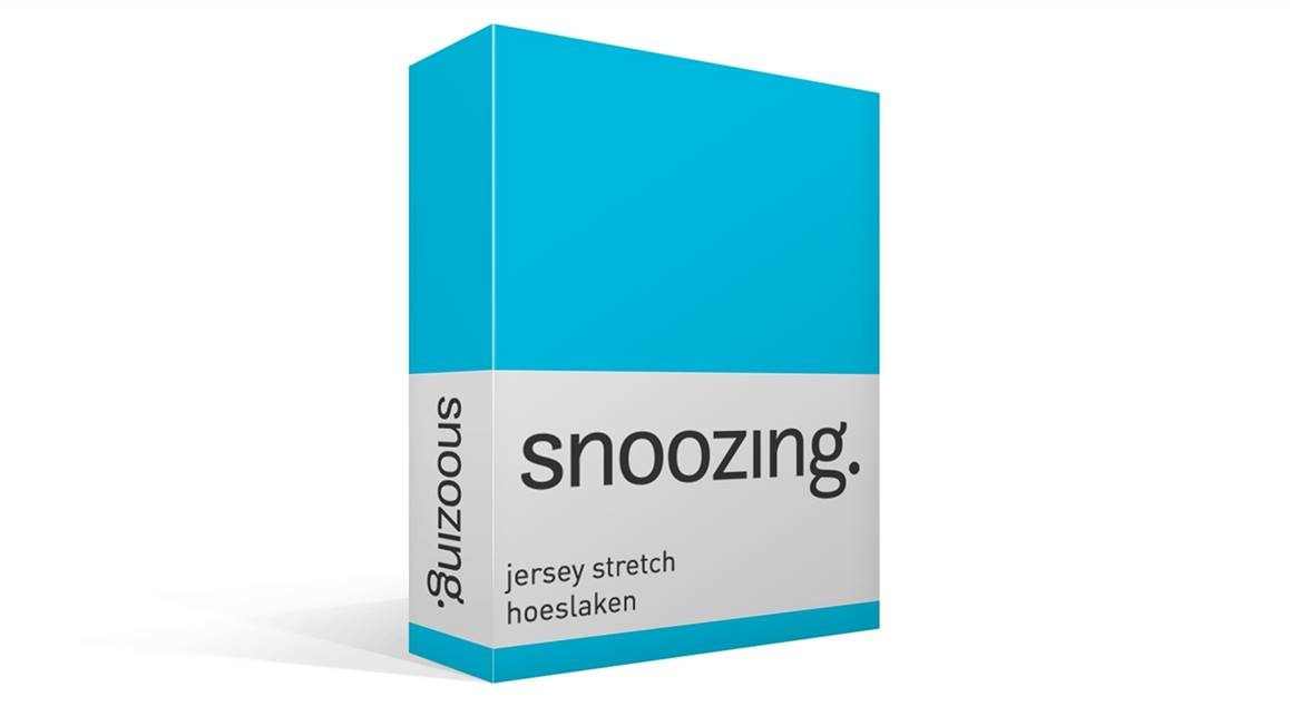 Snoozing jersey stretch hoeslaken