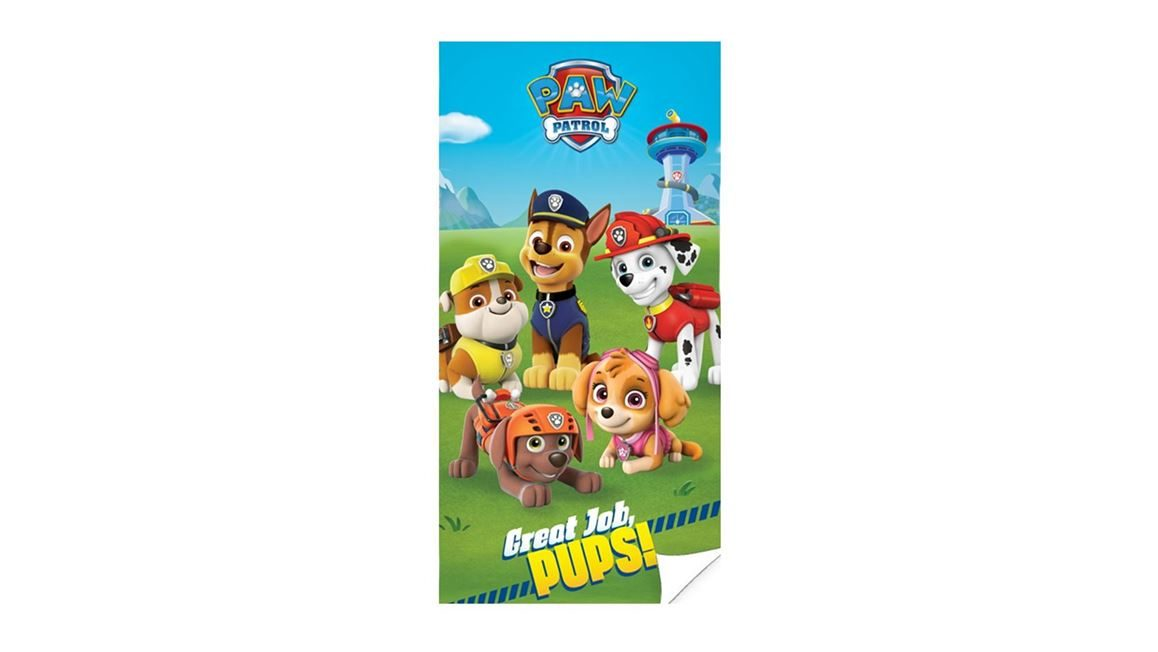 Paw Patrol strandlaken Great job Pups