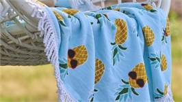 Covers & Co Pineapple strandlaken