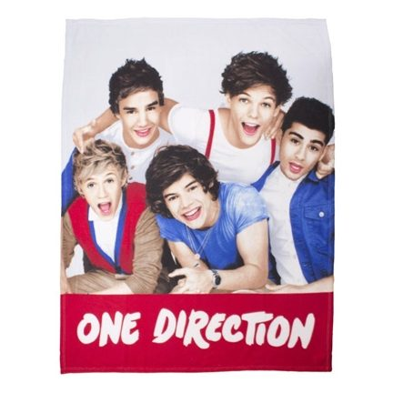 One Direction fleece plaid