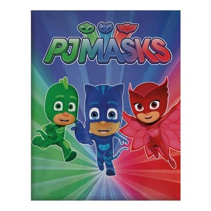 PJ Masks fleece plaid