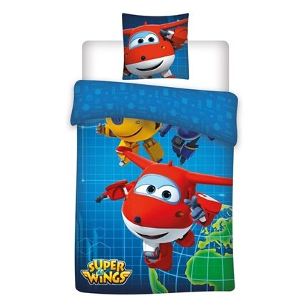 Super Wings dekbedovertrek