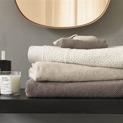 Essenza Connect Organic Uni washandje (set van 6)