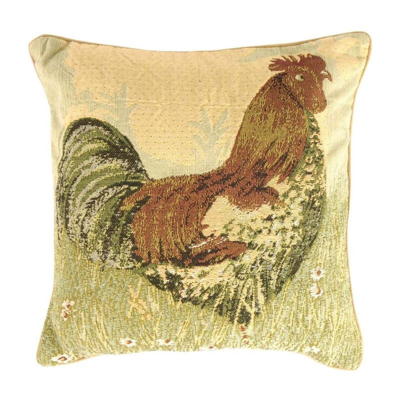 Rooster kussenhoes