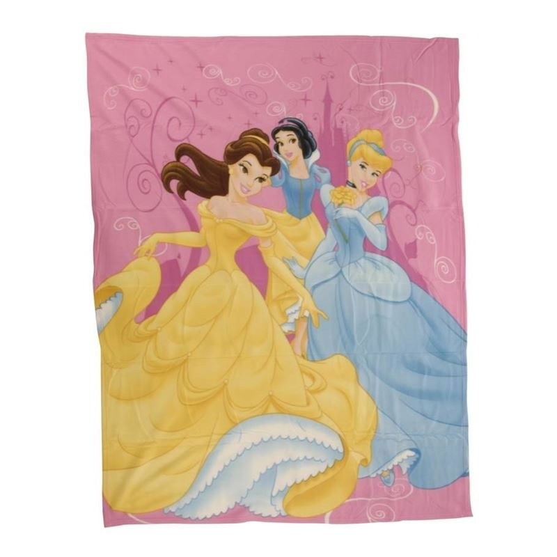Disney Princess fleece plaid