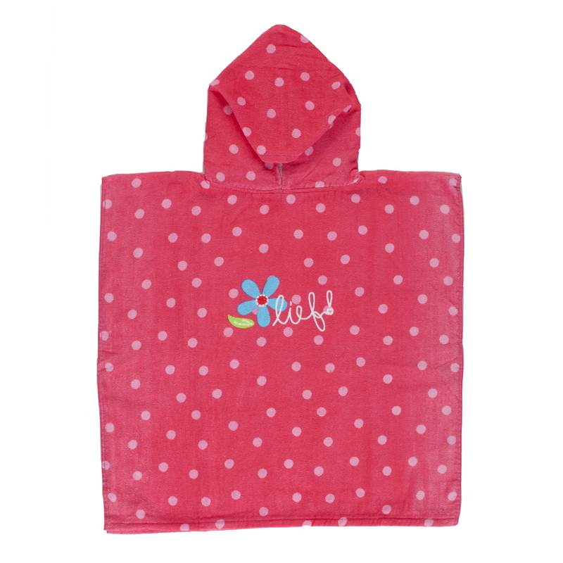 Lief! Girl kinderponcho