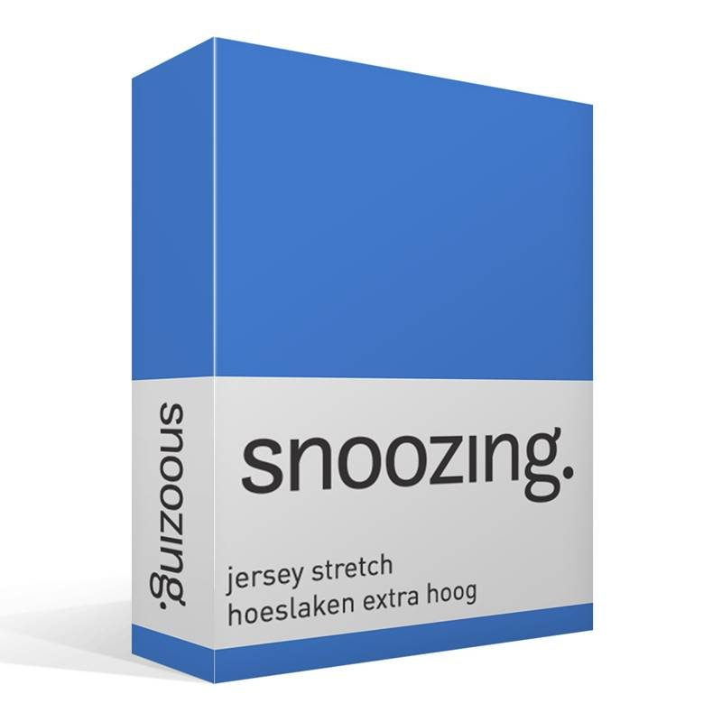 Snoozing jersey stretch hoeslaken extra hoog
