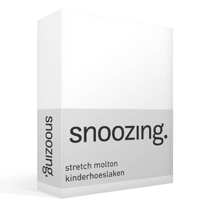 Snoozing stretch molton kinderhoeslaken