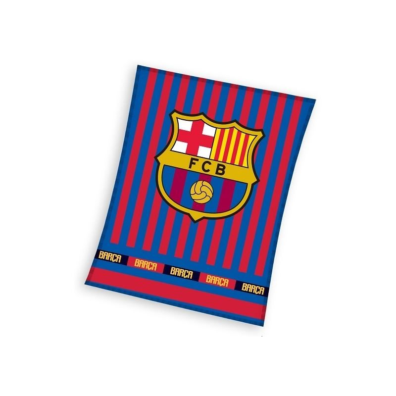 FC Barcelona fleece plaid