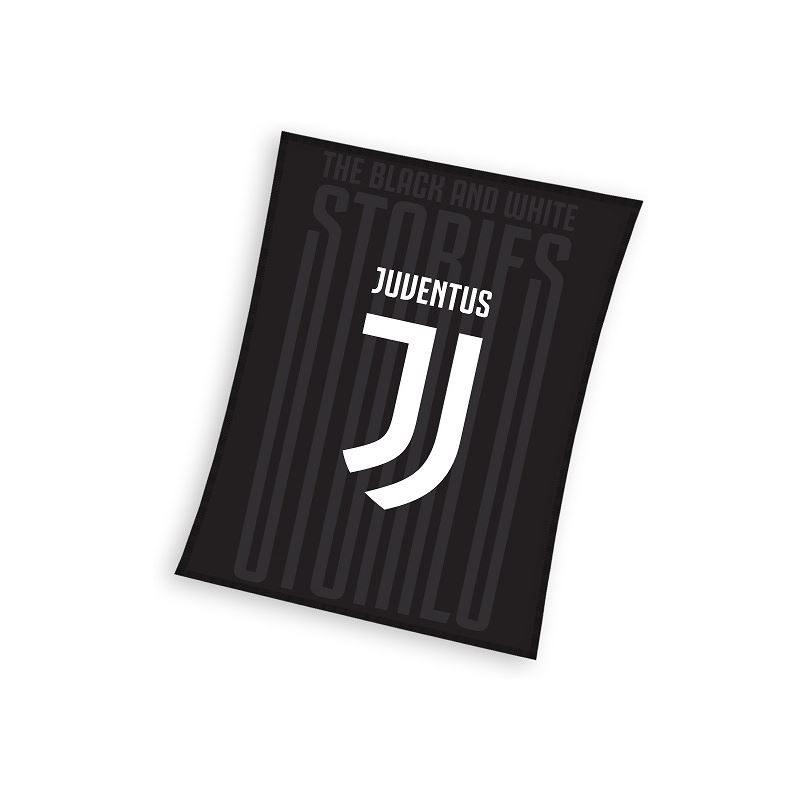 Juventus fleece plaid