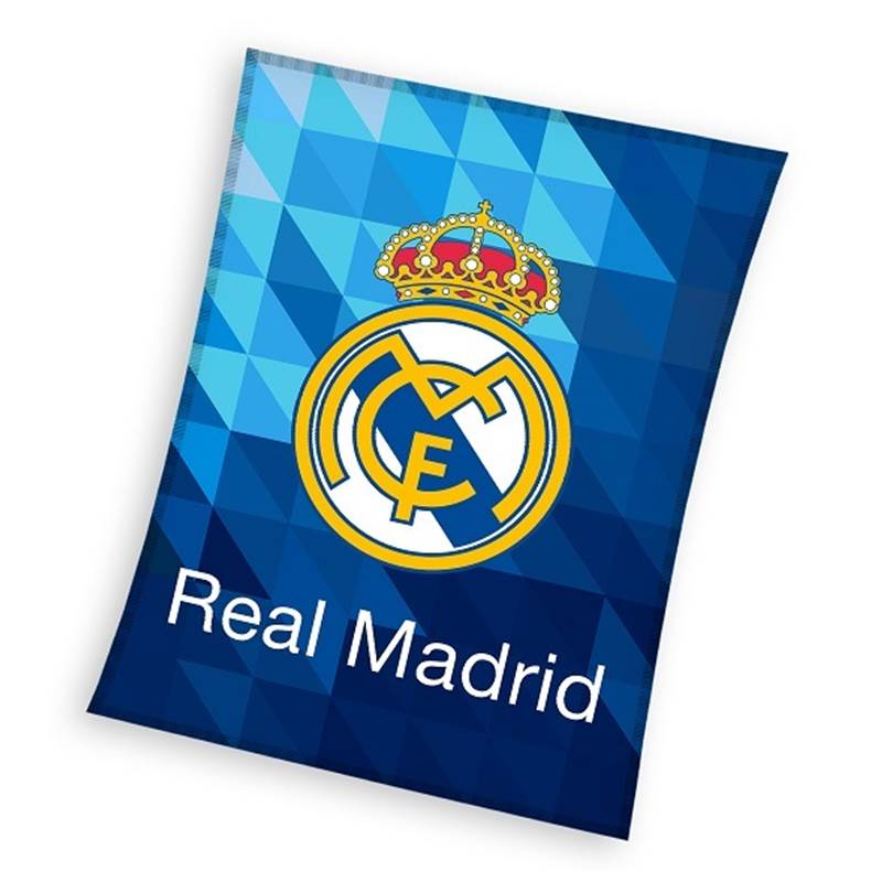 Real Madrid fleece plaid